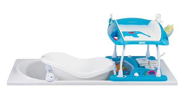 Duo Amplitude, il fasciatoio-bagnetto per la vasca da bagno  BimboChic