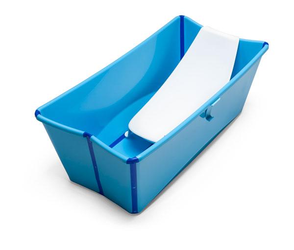 Stokke presenta flexi bath la vaschetta pieghevole per il bagno bimbochic - Vaschetta bagno bimbo ...
