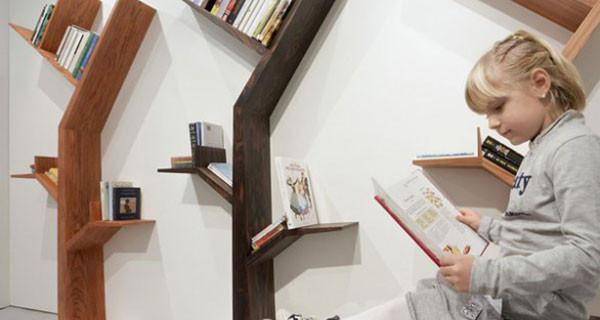 La libreria albero, i libri come foglie