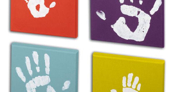 Baby Art, quadri personalizzabili con le impronte dei vostri bimbi