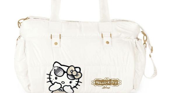 Borse fasciatoio, ecco i modelli di Hello Kitty e Keith Haring proposti da Brevi