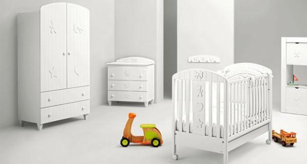 Blanche by Mibb, la cameretta per i bambini