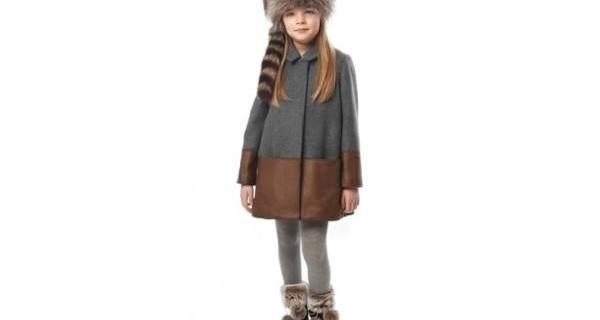 Bambini di stile con la collezione AI 2013/14 di Fendi Kids