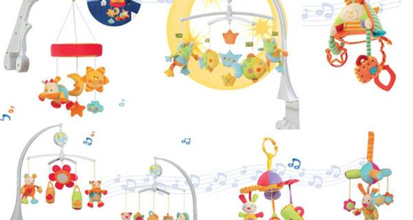 Le giostre musicali di Brevi per la nanna dei vostri bimbi