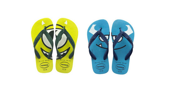 Monsters University ai piedi con Havaianas