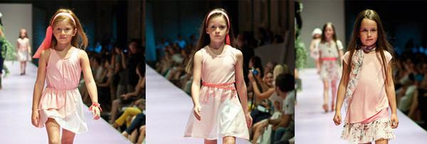 Illudia dedica alle bambine romantiche la collezione primavera-estate 2013