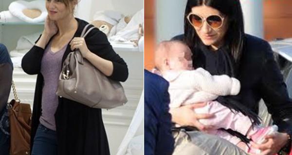 Laura Pausini e Paola Cortellesi mamme nello stesso giorno