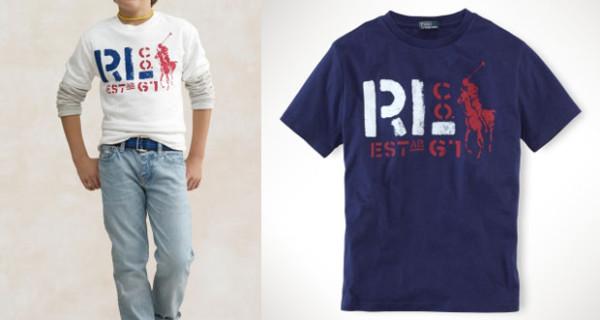 La t-shirt di Ralph Lauren per essere comodi e fashion