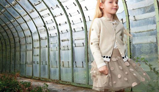 Simonetta, la collezione autunno-inverno 2013 per le bambine alla moda