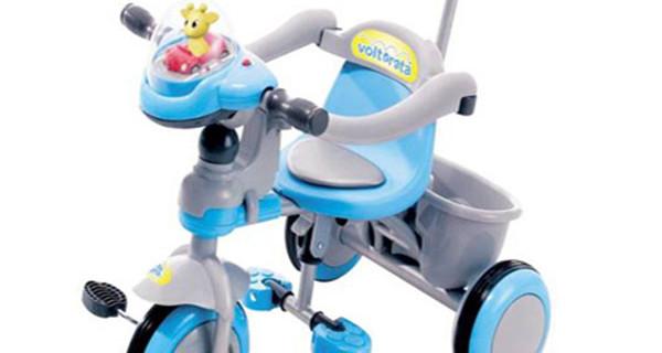 Triciclo Plus, il triciclo di Io Bimbo per la prima infanzia