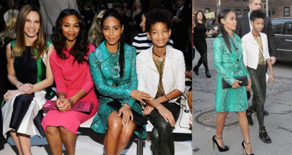Willow, la figlia di Will Smith, icona fashion a 12 anni
