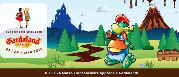 Gardaland ospita Eurochocolate. Giochi, attrazioni e laboratori legati al mondo del cioccolato