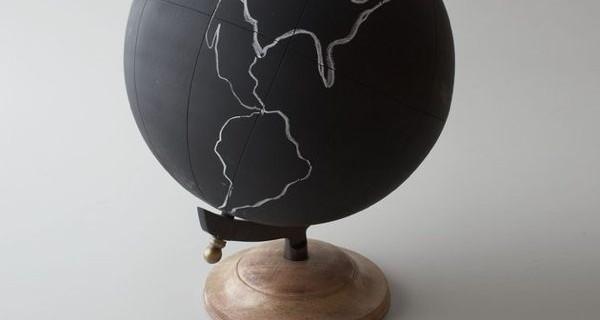 La lavagna a forma di mappamondo per imparare la geografia a scuola