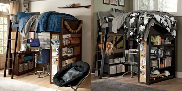 Sleep study loft la soluzione per i piccoli spazi senza for Camerette per bambini piccoli spazi