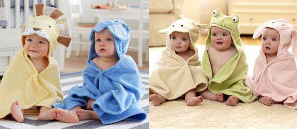 Accappatoio con animali o peluche? I bellissimi modelli dedicati ai bimbi