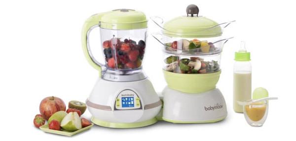 Nutribaby babymoov il robot 100 automatico che si occupa di tutto bimbochic - Robot per cucinare ...