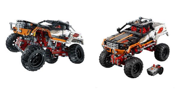 Il fuoristrada 4×4 della Lego diventa anche Camion off-road