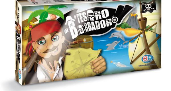 Il Tesoro di Barbadoro, il nuovo avventuroso gioco di Editrice Giochi