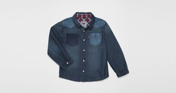 Anton Shirt, la camicia di jeans per ragazzi firmata Levi's