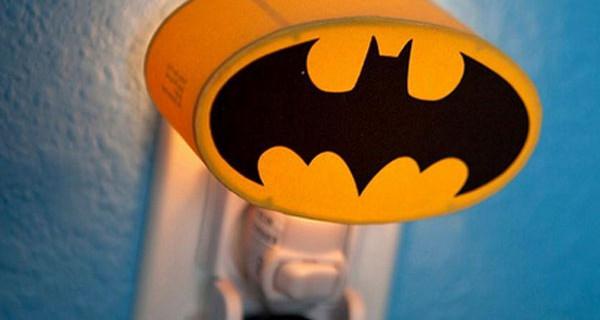 La lampada di Batman per la cameretta dei bimbi