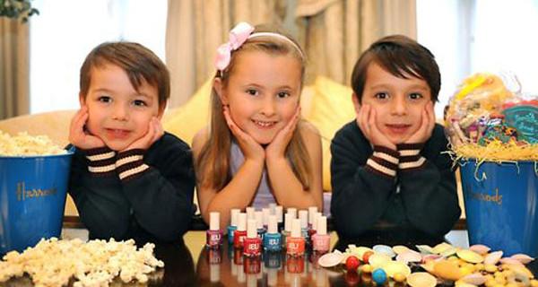 Pigiama Party per tutti i bambini! Il programma del soggiorno in una suite a Londra