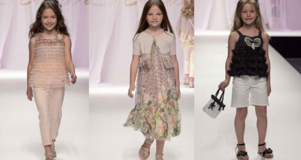 Miss Blumarine presenta la collezione PE 2013 per bambine