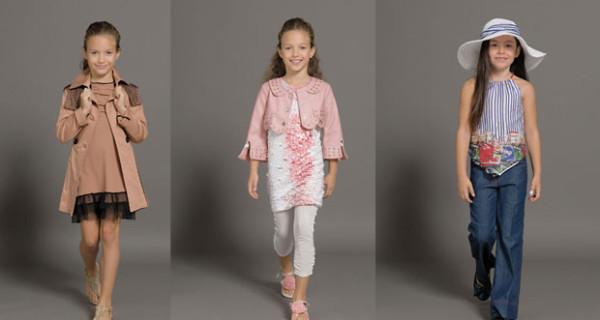 Parrot presenta gli abiti della collezione PE 2013 per le bambine chic