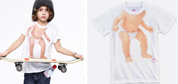 La t-shirt di Evian per i ragazzini che non rinunciano a stile, comodità e ironia