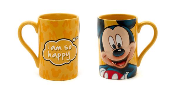 Festa del papà, cosa regalare? Le tazze di Topolino e Brontolo firmate Disney Store
