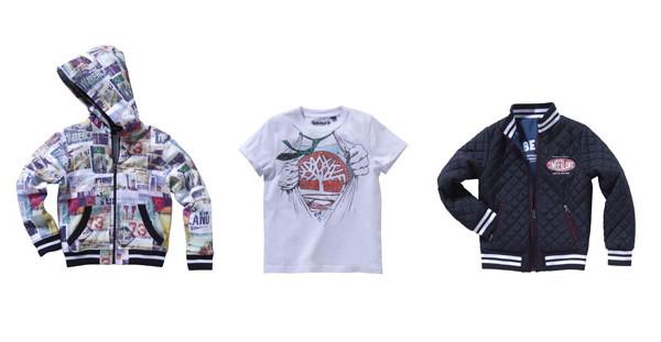 Timberland Kids, vestiti dal sapore casual per bambini sportivi