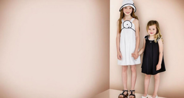 Armani Junior collezione PE 2013, abiti per bambina perfetti per una cerimonia