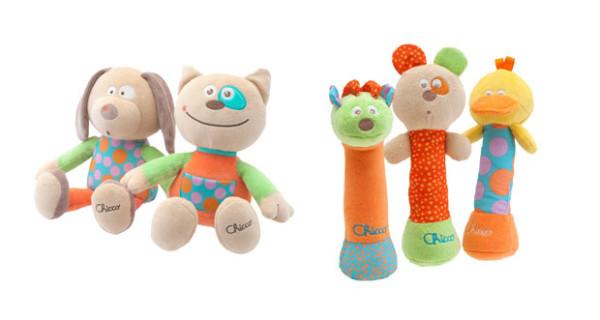 Chicco presenta Happy Colors, la nuova linea di giochi tessili per i bimbi