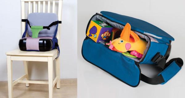 Alzasedia per bambini di OkBaby, comodo da trasportare e perfetto per tutti i tipi di sedia