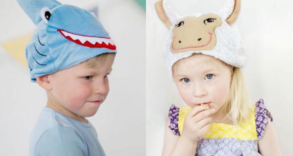 Oskar & Ellen presenta i simpatici cappelli per bambini con mucca e squalo
