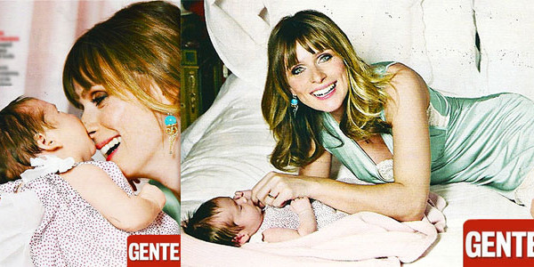 La neo mamma Serena Autieri presenta la sua bimba: ecco la piccola Giulia