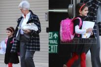 Il look di Suri Cruise: la figlia di Tom e Katie Holmes indossa un abito Bonpoint