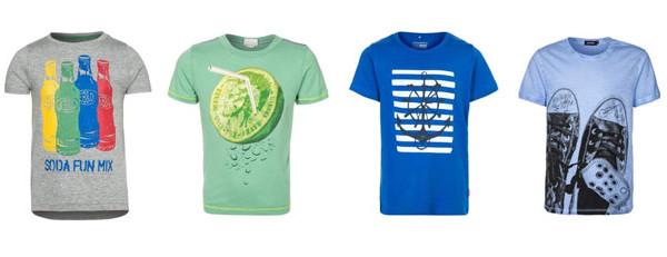 T-shirt colorate per la primavera, ecco i modelli low cost per i bambini
