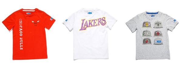 Le nuove t-shirt Zara per ragazzi nate dalla collaborazione con NBA