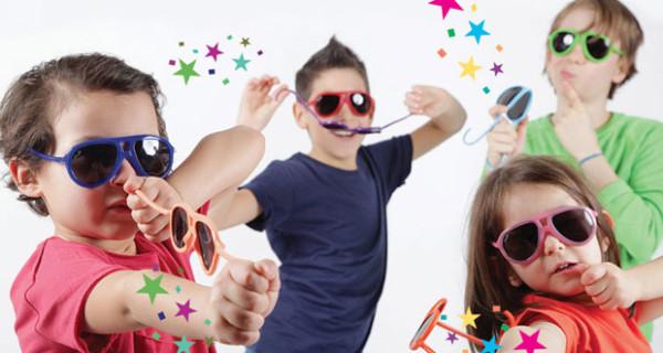 Al e Ro Design presenta i nuovi e indistruttibili occhiali da sole per bambini