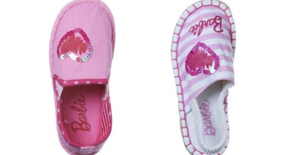 Espadrillas per bambina firmate barbie bimbochic - Barbie senza colore ...