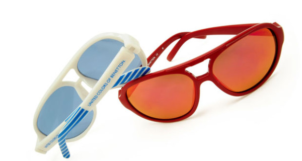Occhiali da sole Benetton per bambini: i modelli della collezione estate 2013