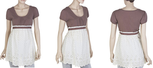 La blusa Premaman della collezione Primavera Estate 2013 di Prenatal