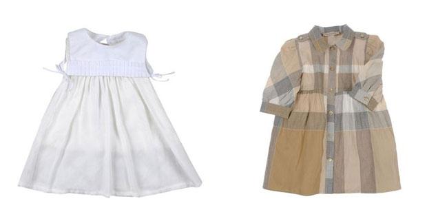 competitive price e725e a51f9 Burberry Baby, i vestitini per bambina perfetti per il ...