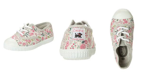 Chipie Jo Flo, le sneakers in tela per bambina al profumo di ciliegia