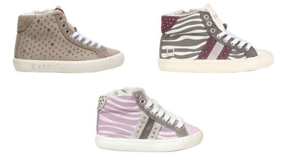 D.A.T.E. le nuove sneakers per bambina della collezione PE 2013