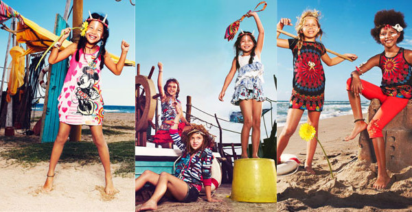 Desigual Kids, l'allegra e colorata collezione primavera estate 2013
