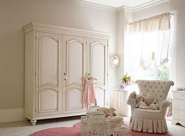 Cameretta per piccole principesse dolfi presenta i sogni for Camerette romantiche