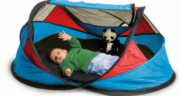 Culla e lettino da viaggio di EKKO ideale per proteggere i neonati da sole, vento e insetti