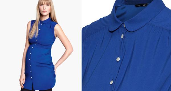 Camicia lunga e senza maniche di H&M Premaman