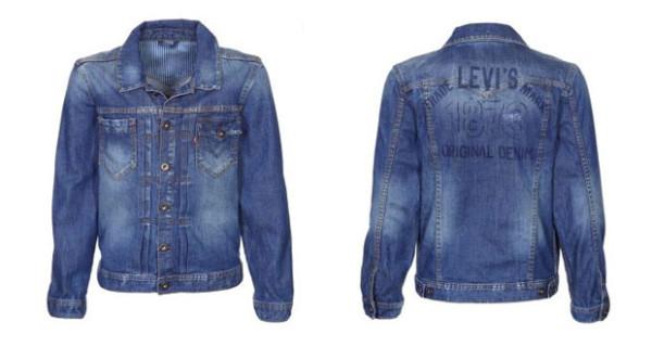 Giacca in jeans: ecco Lawry, il modello di Levi's per bambini